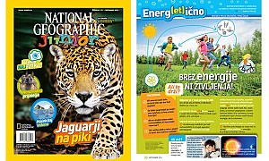 Sodelovanje z National Geographic Junior – rubrika Energ(et)ično!
